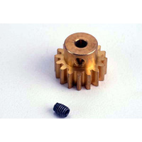 Traxxas 1687: Gear 16-T Pinion Brass