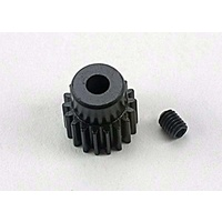 Traxxas 1918: Gear, 18-T pinion (48-pitch) / set screw