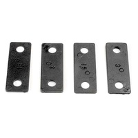 Traxxas 1934: Wedges, anti-squat (1.5 & 3.0 degree) (2 each)