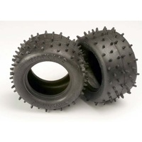 Traxxas 1970: Tires, low-profile spiked 2.2'' (2)