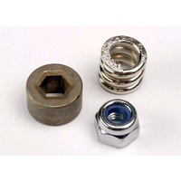Traxxas 1994: Slipper tension spring/ spur gear bushing & locknut