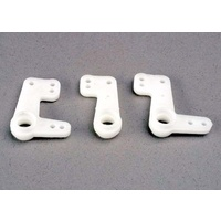 Traxxas 2543: Steering bellcranks (3) (plastic only)