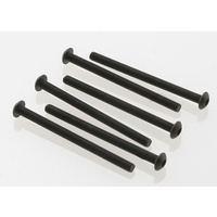 Traxxas 2592: Screws, 3x40mm button-head machine (hex drive) (6)