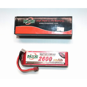 NXE 14.8V 2600mah 40c Soft case w/Deans Lipo Battery
