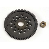 Traxxas 3166: Spur gear (66-Tooth) (32-Pitch) w/bushing