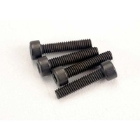 Traxxas 3236: Screws, 2.5x12mm cap-head machine (6)
