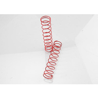 Traxxas 3757R: Springs, rear (red) (2.9 rate) (2)