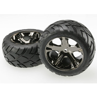 Traxxas 3773A: Tires & wheels, assembled, glued