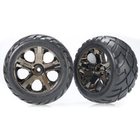 Traxxas 3776A: Tires & wheels, assembled, glued