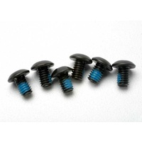 Traxxas 3939: Screws, 4x6mm button-head machine