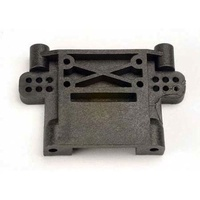 Traxxas 4192: Rear Bulkhead/Bulk-Head, Black: Nitro Stampede New