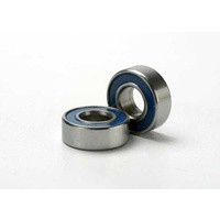 Traxxas 5116: Ball bearings, blue rubber sealed (5x11x4mm) (2)