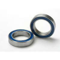 Traxxas 5120: Ball bearings, blue rubber sealed (12x18x4mm) (2)