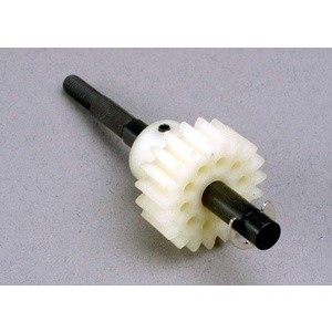 Drive gear, single-speed (19-tooth)/ slipper shaft