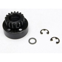 Traxxas 5217: Clutch Bell 17T 17-T/Tooth +Washer & 5mm E-Clip