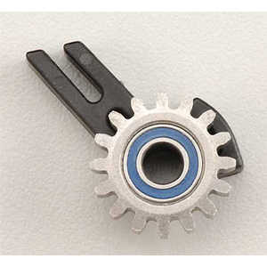Traxxas 5377: Idler Gear/Support/Bearing Revo