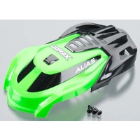 Traxxas 6614: Canopy Green/Screws Alias
