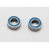 Traxxas 7019: Blue Sealed Bearings (2) 4x8x3mm
