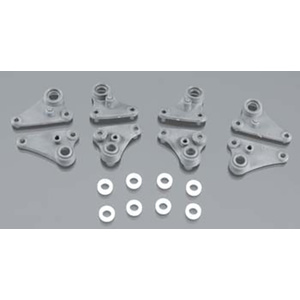 TRAXXAS 7158 Rocker arm set, progressive-2/ plastic bushings (8)