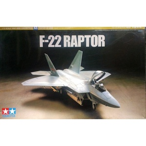 Tamiya F-22 Raptor 1/72 War Bird Collection #63