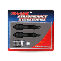 Traxxas 7461X: Shocks, GTR long hard-anodized