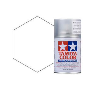 Tamiya Color Paints for Polycarbonate PS-1 White Spray Paint (100ml)