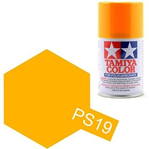 Tamiya PS-19 CAMEL YELLOW 100ml Polycarbonate Spray
