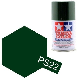 Tamiya PS-22 Racing Green - 100ml Spray Can