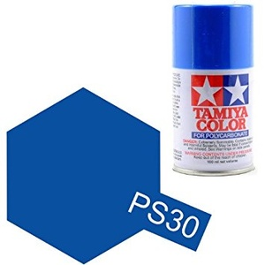 Tamiya PS-30 Polycarbonate Spray Paint BRILLIANT BLUE 100ml