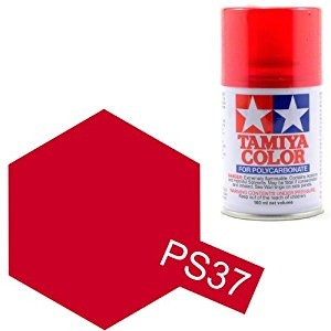 Tamiya PS-37 Translucent Red Polycarbonate Spray Paint 100ml
