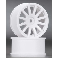 Traxxas 7571: Wheels 12-Spoke White (2)