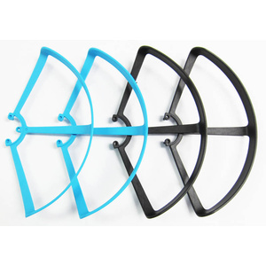 Quantum FPV Propeller Guard Set, 2 Blue, 2 Black: