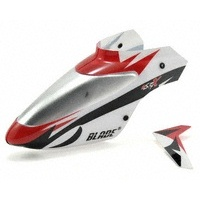 Blade White Canopy w/ Vertical Fin mSR X BLH3218