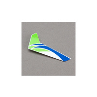 Blade Green Vertical Fin with Decal: mCP X BLH3520G