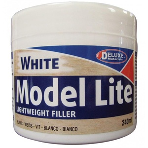 DELUXE MATERIALS BD5 MODEL Filler LITE WHITE 240CC