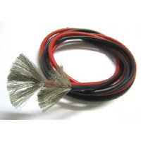 Dualsky red and black 14G silicon wire (1 metre each) DSAWG14