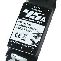 Dualsky XC-45-LITE Brushless Speed Control 45A, 2-3S