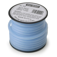 1 Meter Large Super Blue Silicone Tubing DUBRO204