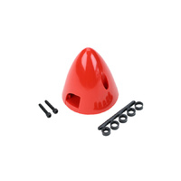 "DUBRO 4 Pin Spinner 2-3/4"" Red DUBRO292"