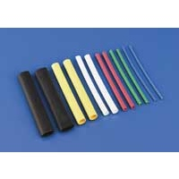 "1/8"" Dia. Heat Shrink Tubing (Red) 4/pkg"