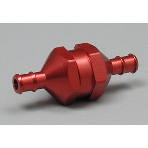 DUBRO In-Line Fuel Filter Red Medium DUBRO834