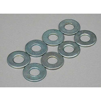 DUBRO 4.0MM Flat Washers (8/pkg) DUBRO2110