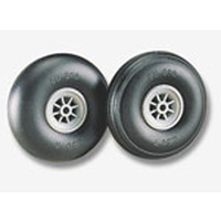 "RC Plane Wheels, Smooth 2.25"" PK2 DUBRO225R"
