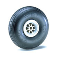 "2-1/2"" Dia. Treaded Lightweight Wheel (2) DUBRO250TL"