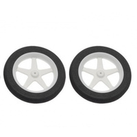 "3.00"" Micro Sport RC Plane Wheels (DUBRO300MS)"