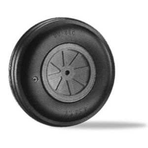 "4"" Dia. Treaded Lightweight Wheel DUBRO400TL"