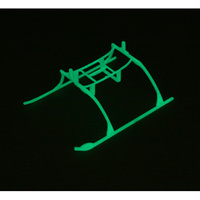 Landing Skid & Batt Mnt Set, Glow in the Dark:BLADE MCX EFLH2222GL