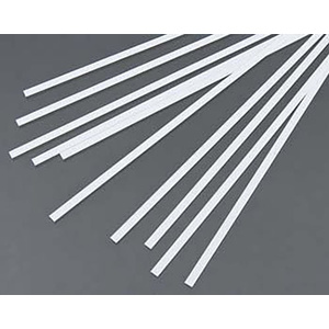 "Evergreen 117Styrene Strips .015"" x .156"" (.4 x 4.0mm) Qty 10"