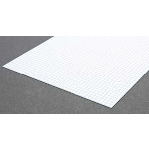 Evergreen 4504 Square Tile Sheet 1/6 inch Plastic
