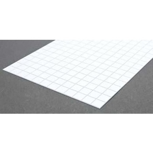 Evergreen 4507 Square Tile Sheet 1/2 inch Plastic